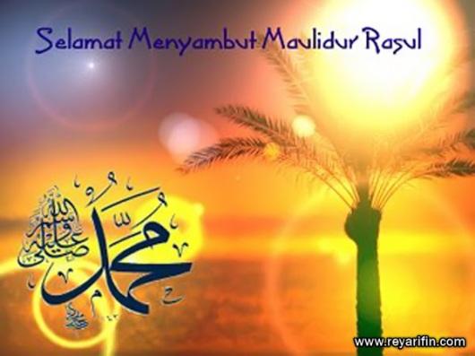www.reyarifin.com - Maulid Nabi Muhammad