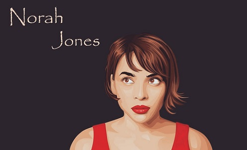 Norah Jones Vector image