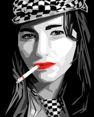 smoker girls